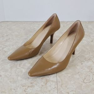 Calvin Klein Dolly Taupe Women's Pointed Toe Pumps